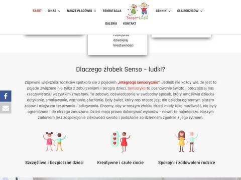 Sensoludki.pl prywatny żłobek