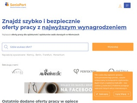 Senioport.pl legalne oferty pracy