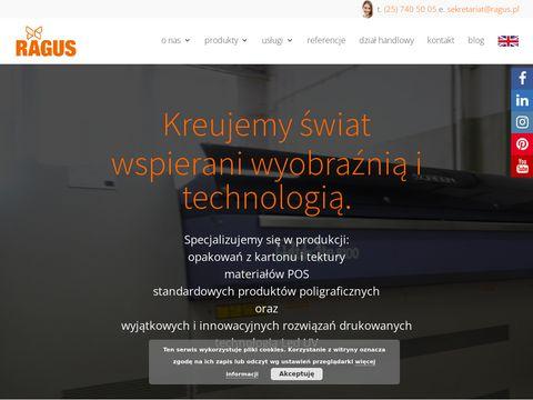 Ragus.pl drukarnia offsetowa