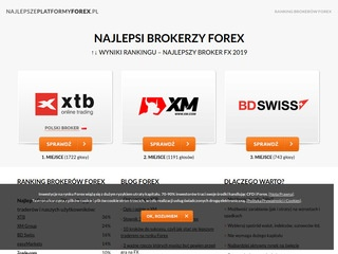 Opinie brokerów Forex 2014