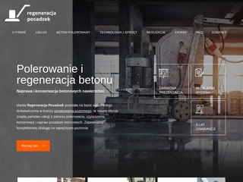 Regeneracja-posadzek.pl czyszczenie