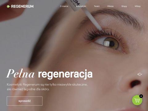 Regenerum serum do rzęs