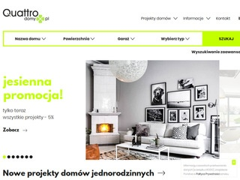 Quattrodomy.pl Dom jednorodzinny