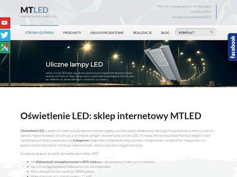 Mtled lampy przemysłowe