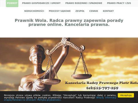 Prawnik dzielnice Wola i Praga