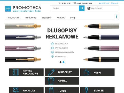 Promoteca.pl gadżety, długopisy, kubki