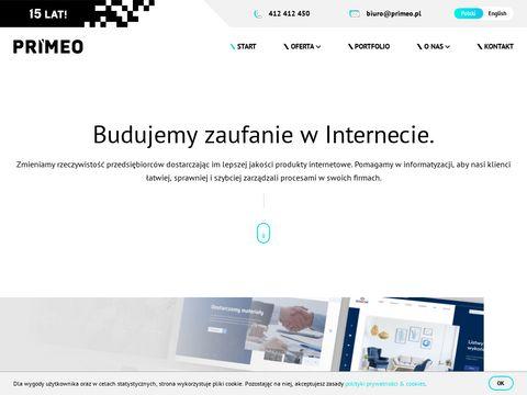Agencja interaktywna Primeo