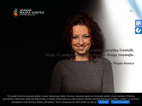 Joanna Majda-Kostrz psycholog
