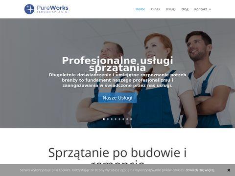 Pureworks.pl mycie hal