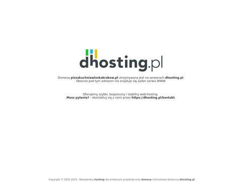 Pizzeria Wolański pizza z szynką
