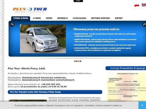 Plustour.pl wynajem autobusów