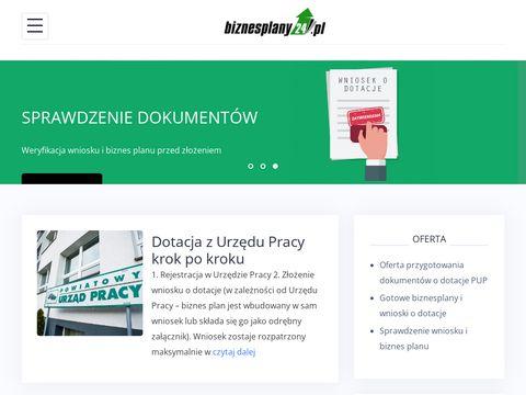 Planujbiznes.pl dotacje z urzędu pracy