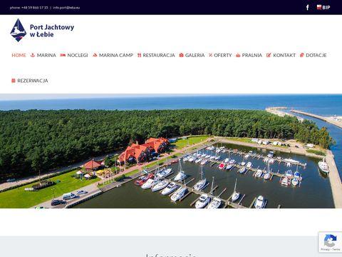 Port Jachtowy imprezy firmowe Łeba