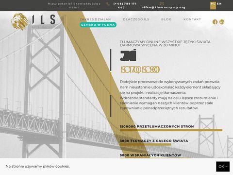 Biuro tłumaczeń - ILS
