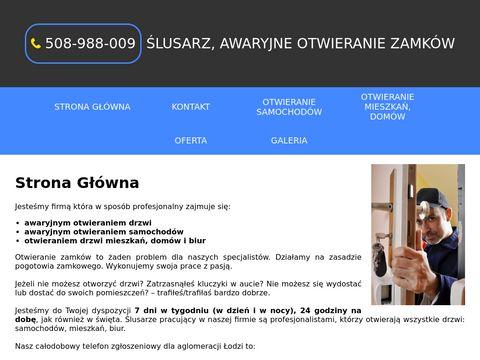 Pogotowie-slusarskie-lodz.pl zamkowe