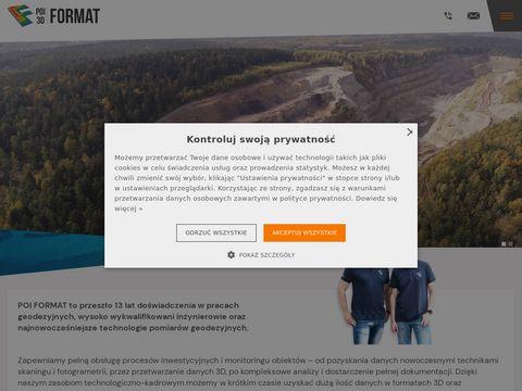Poiformat.pl chmura punktów
