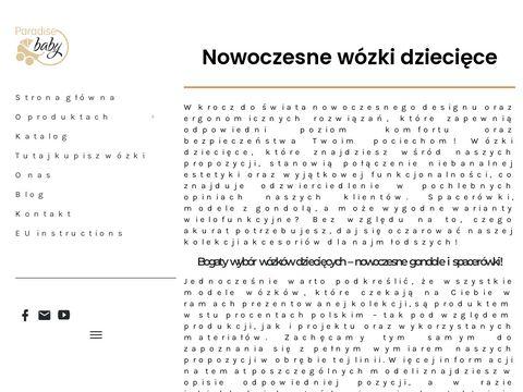 Wózki dziecięce - Paradise Baby