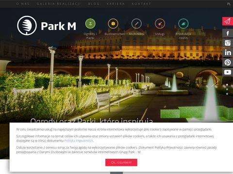 Park-M Poland projekty terenów