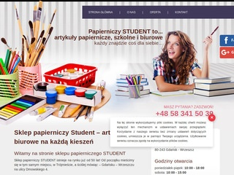 Student papiery ozdobne Gdańsk