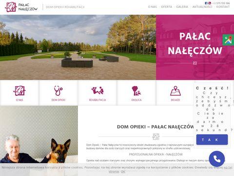 Palacnaleczow.pl dom opieki