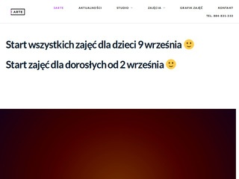 3arte.pl - taniec Gliwice