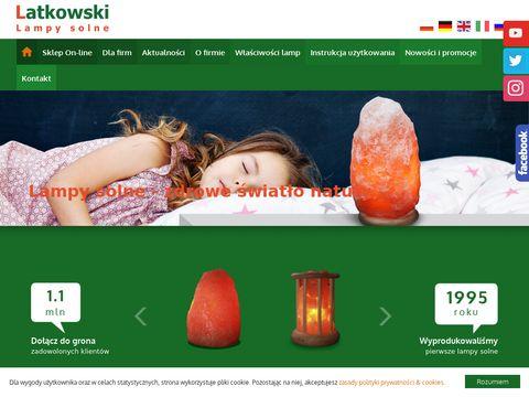 Latkowski.pl lampy solne