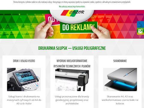 Lasercolor druk i reklama