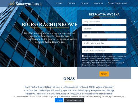 Lecyk Katarzyna biuro rachunkowe