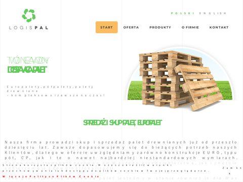 Logispal.pl palety sprzedaż
