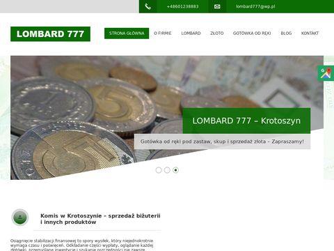Lombard 777 Krotoszyn