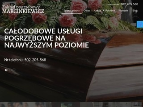 Marcinkiewicz-pogrzeby.pl