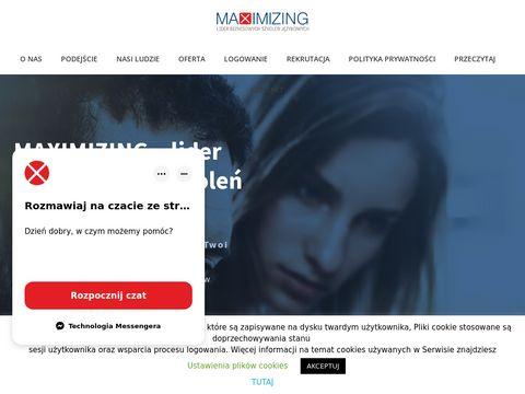 Język angielski dla firm Maximizing