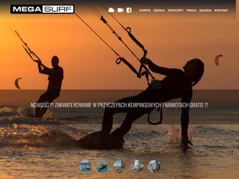 Kursy kitesurfingowe - Mega Surf
