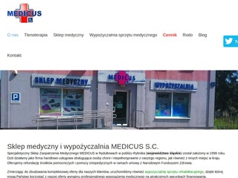 Medicus-kostka.pl aparat tlenowy