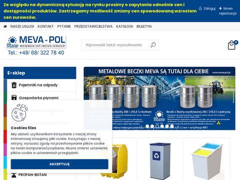 Meva-Pol przewoźne eko-składy