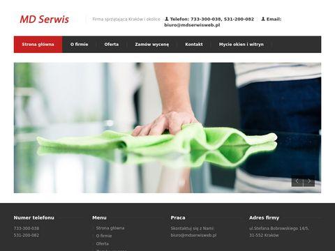 Firma sprzątająca Kraków MD Serwis