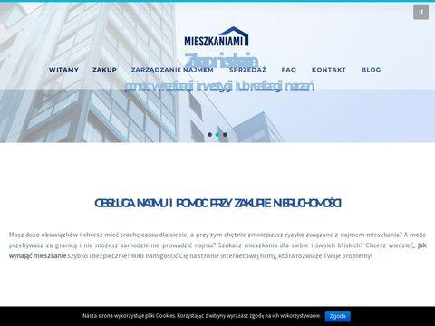 Mieszkaniami.pl zarządzanie