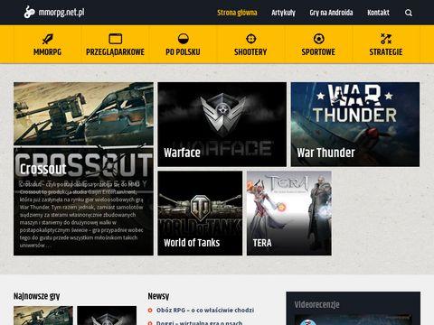 Mmorpg.net.pl - strona o grach