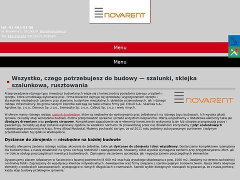 Novarent szalunki stropowe Poznań