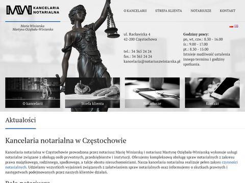 Notariuszwiniarska.pl