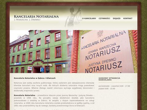 Notariuszegliwice.pl - notariusz