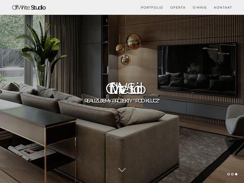 Offwhitestudio.pl projektant wnętrz
