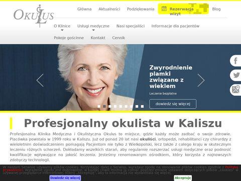 Okulus klinika okulistyczna Kalisz