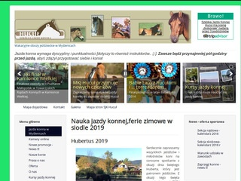 Huculki.com.pl - nauka jazdy konnej