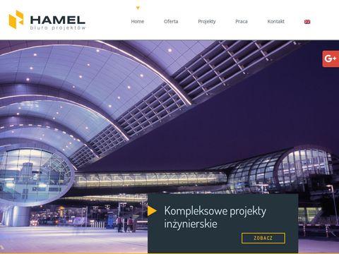 Hamel projekt przyłącza sn
