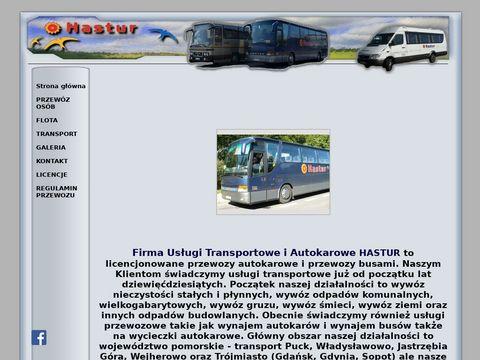 Hastur.comweb.pl wynajem autokarów
