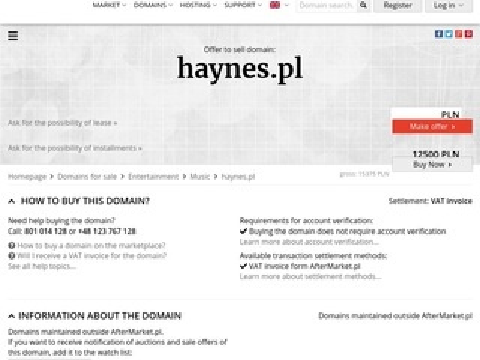 Księgarnia motoryzacyjna Haynes.pl