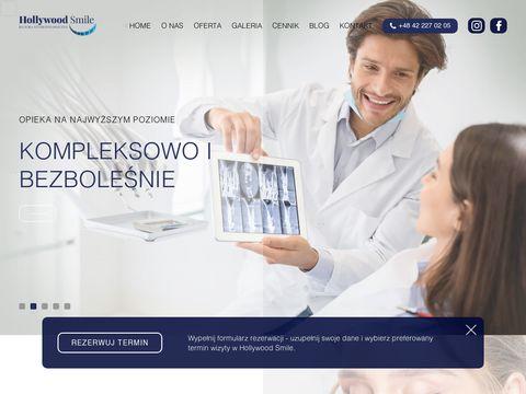 Hollywood Smile implanty Pabianice