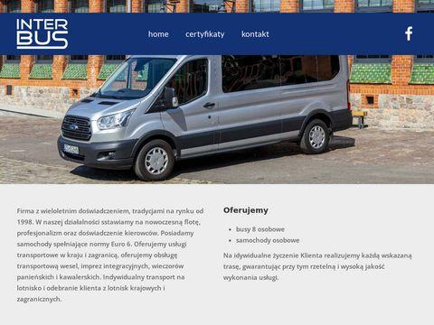 Inter Bus Szczecin wynajem busów