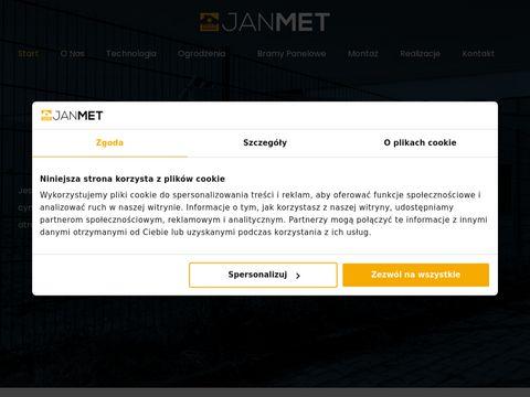 Ogrodzenia panelowe 2D - Janmet